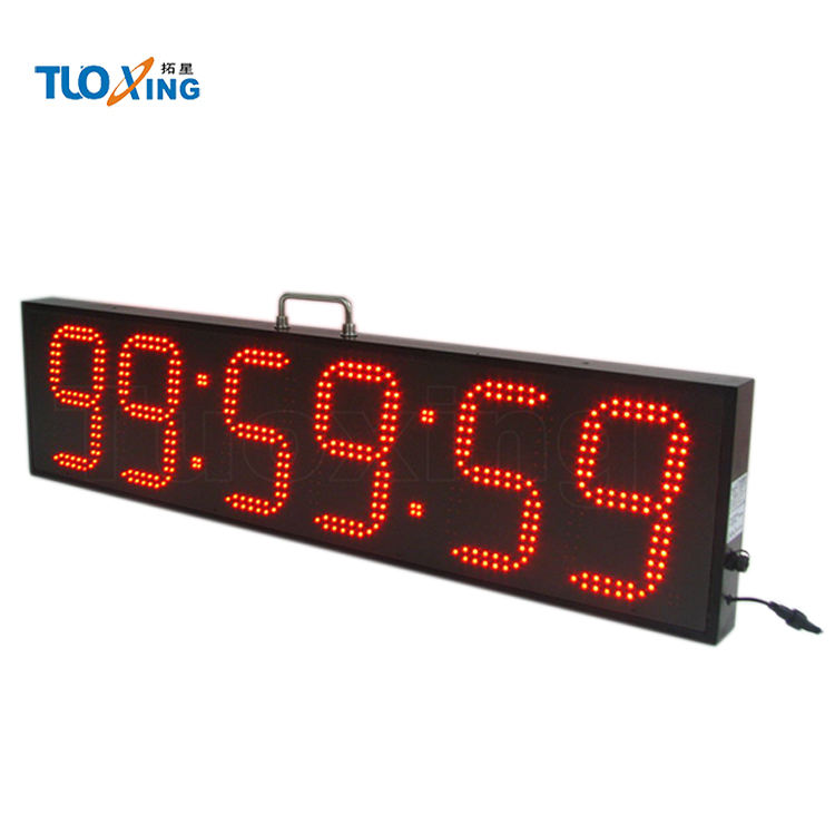 Hot sale 8 inch 6 digits Triathlon Sports Event Clock