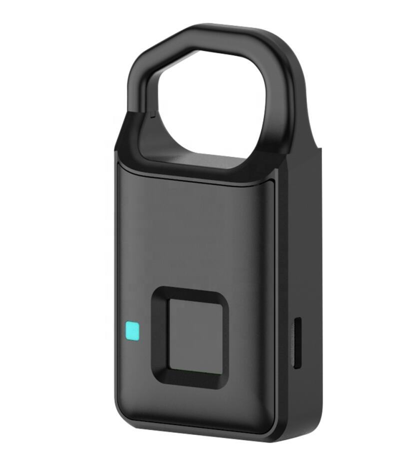 P4 smart lock antivol porte intelligente vélo voiture sac serrure à bagages IP65 étanche USB charge cadenas intelligent avec empreinte digitale