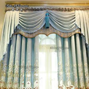 Curtain factory from Shaoxing high quality chenile and finished curtain fabric