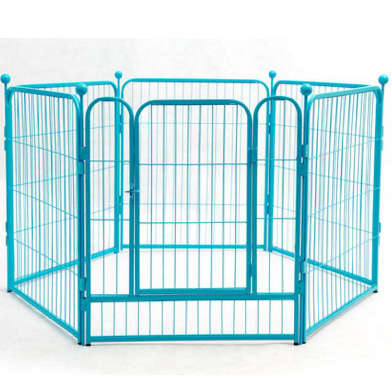 Portable outdoor folding dog run / cheap metal pet enclosure dog fence