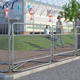 Crowd control barriers/event steel traffic security Barrier/pedestrian portable barricades