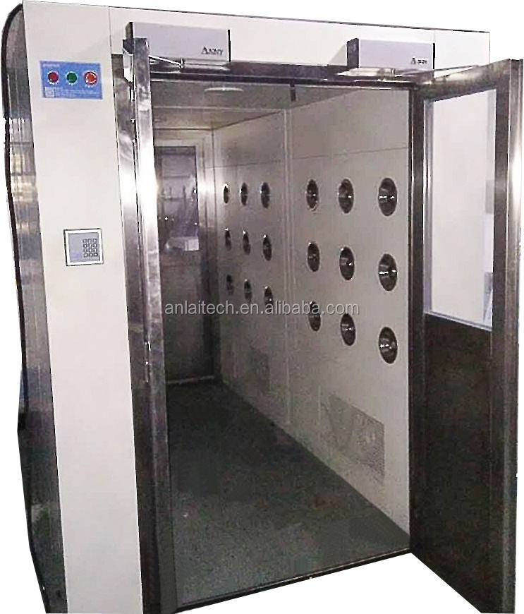 All Steel Automatic Clean room Air Shower For Clean Room Project