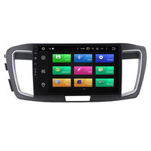 Android 10.0 car audio multimedia radio gps navigation system stereo 2013-2017, car dvd player for honda accord 9/