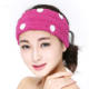 China soft microfiber cheap sports elastic girs hair headband with flower