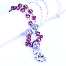 New products high quality luxurious and fashion pearl beaded lanyard