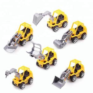New Design Pull back Mini Truck Cars 6 Pcs Set For Kis Gifts Model Car Toy