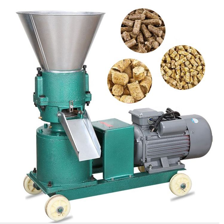 Output 1t/h small farm used cattle feed pellet mill /animal feed pallet machine line
