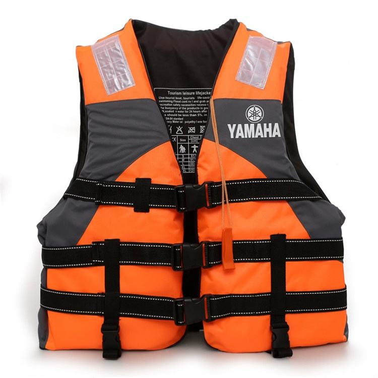 Newest best selling personalized adult professional kayak offshore work portable oxford swimming life jacket