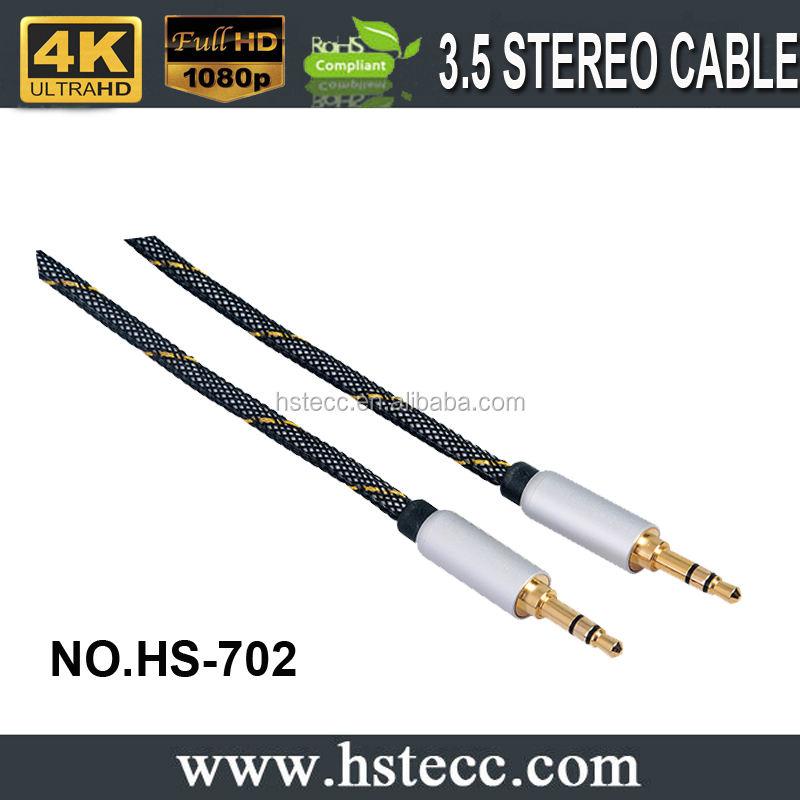 5 m 3.5mm AUX <span class=keywords><strong>AUXILIAR</strong></span> <span class=keywords><strong>CABLE</strong></span> Macho a Macho <span class=keywords><strong>Cable</strong></span> de Audio Estéreo PC MP3 DEL COCHE