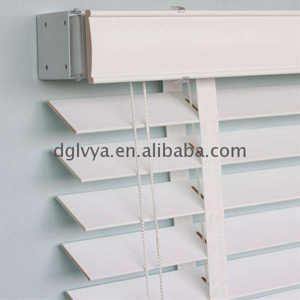 Factory directly sell white window wood blind and shutter with cheapest price