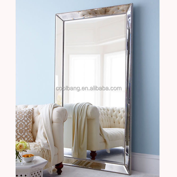 wholesale home decor bevelled frames large free standing mirror