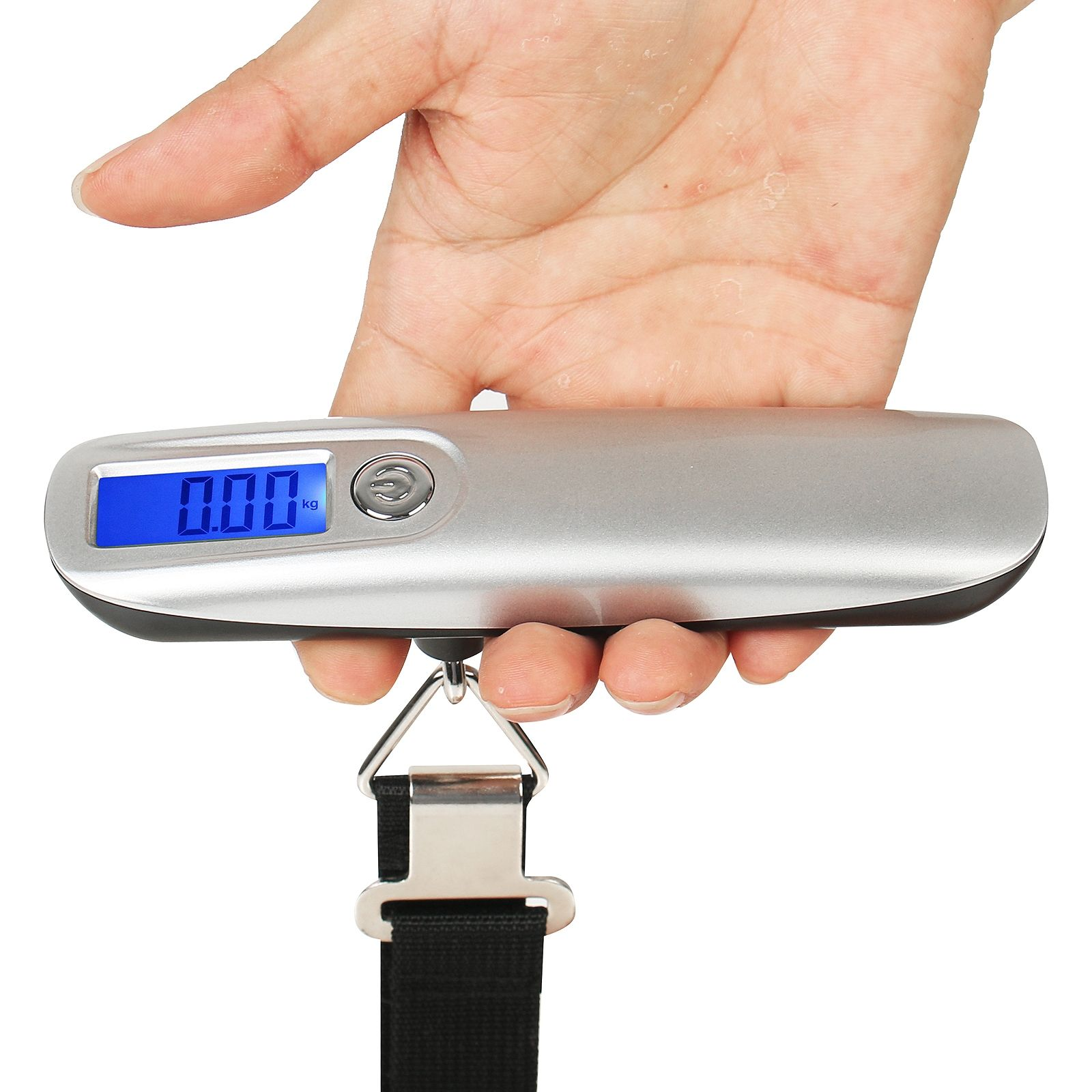 2019 Amazon top selling 50kg Weight Machines Hanging Luggage Scale travel handle scale OEM service