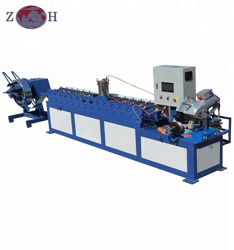 tdc flange roll forming machine for ventilation square ducts