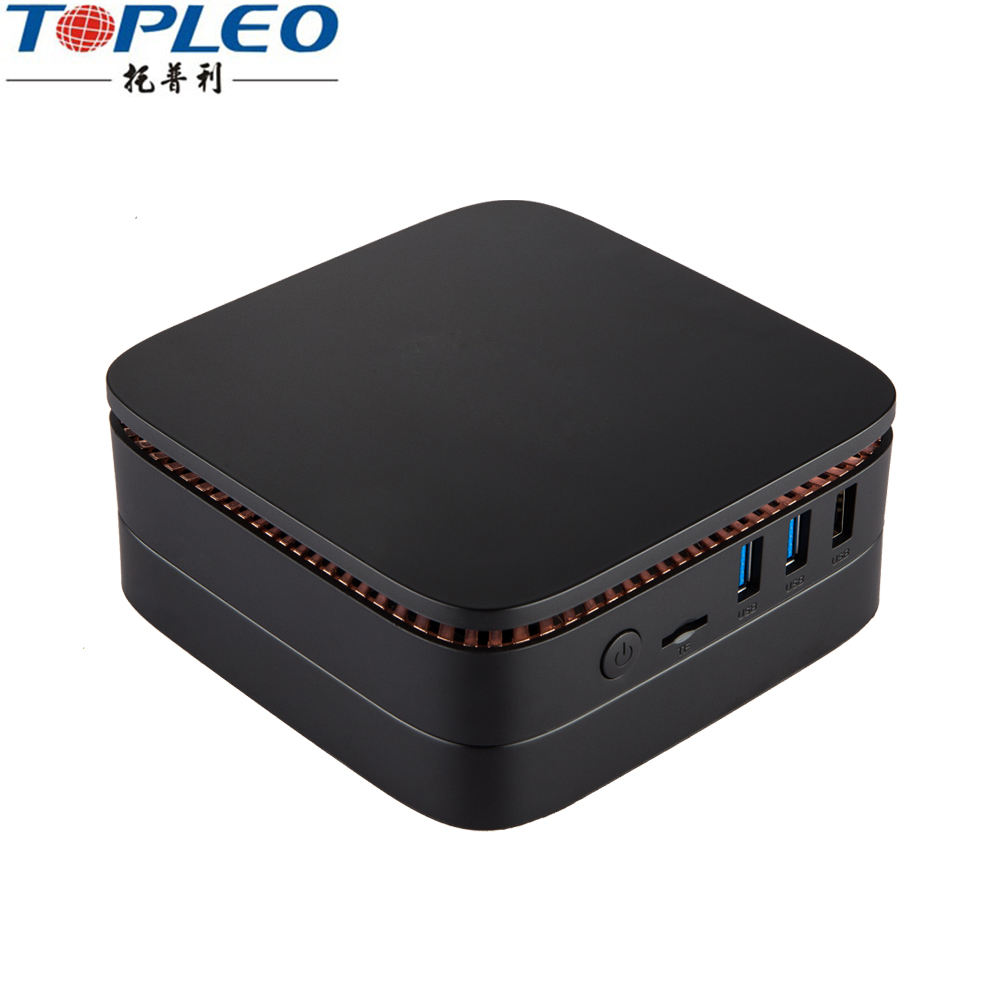 OEM Dual-band wifi offers you stable signal mini pc 4 nic Apollo Lake Celeron DC or QC pocket computer