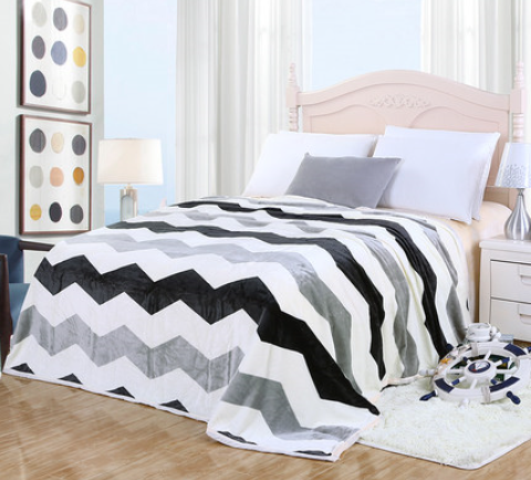 New 100polyester plush blanket flannel fleece bed sheets manufacturers , flannel fleece 4pcs bedding set