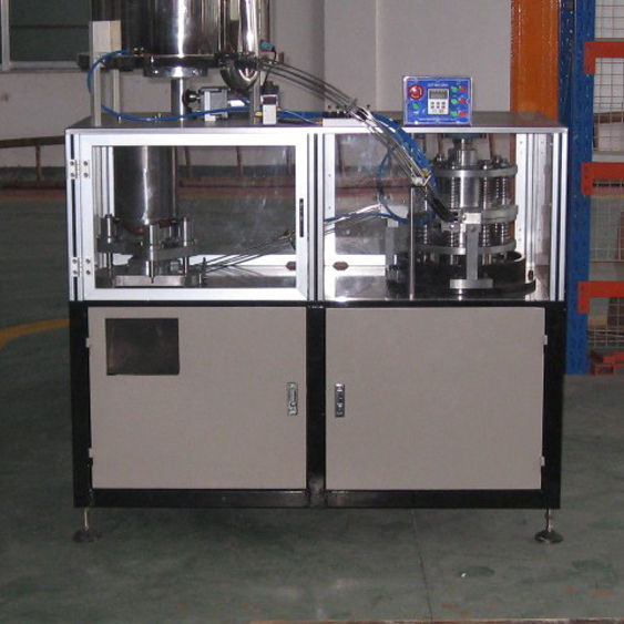 HJS2012- Low Speed High Height Cap Folding Slitting Machine