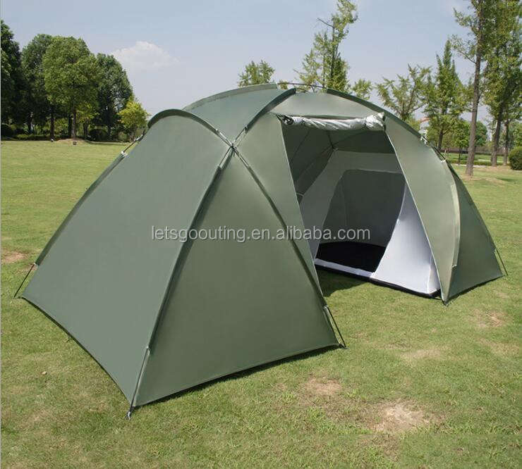 Amazon Good Selling Large Dome Tent Double Layer Opening Screened Family Camping Canopy Shelter Tent(HT6069-9)