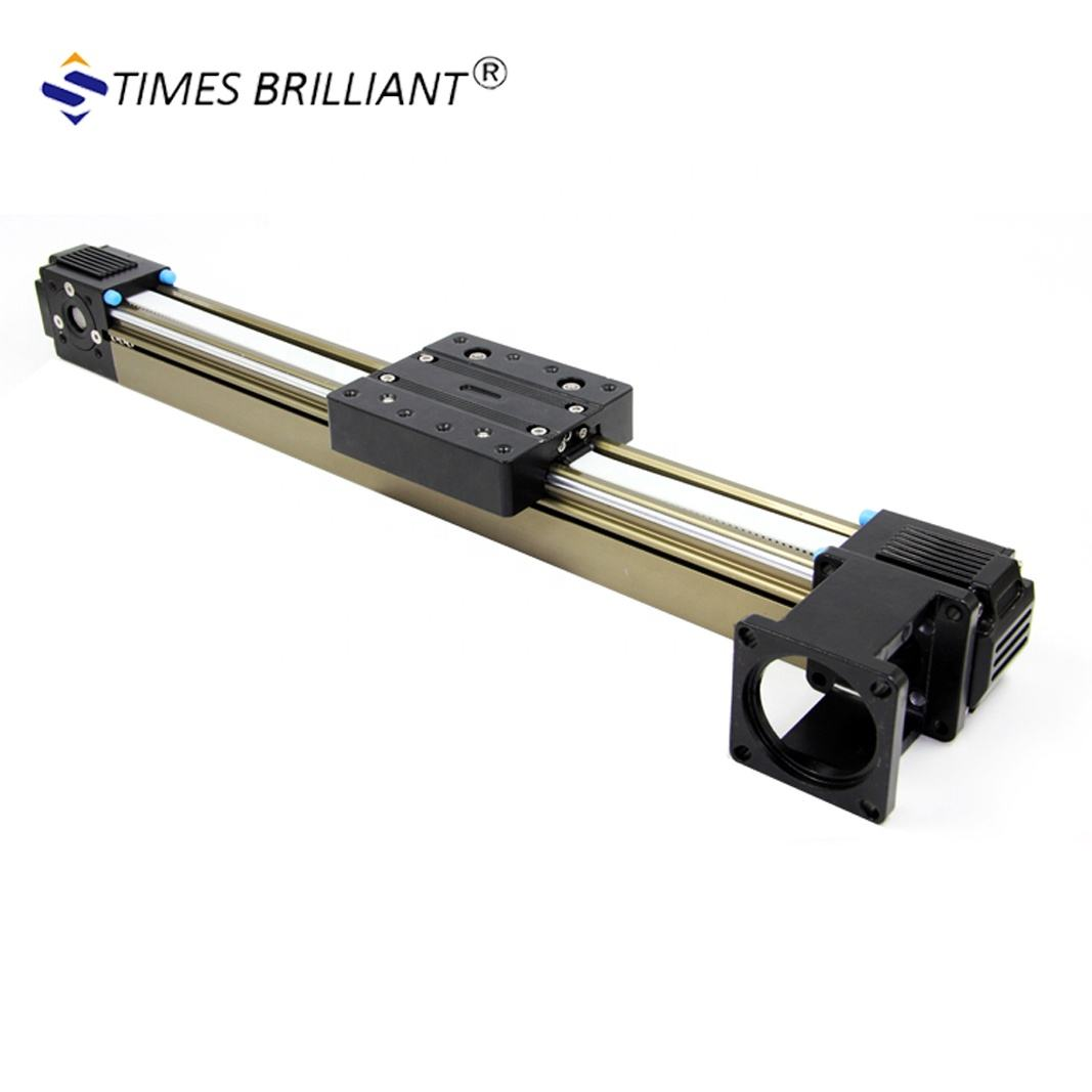 DS45 600mm to1000mm stroke motorized cnc high speed belt driver linear guide rail for 3d printer from china