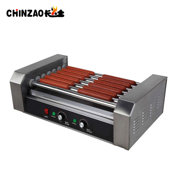 Cooking Equipment Stainless Steel Hot Dog Grill Machine