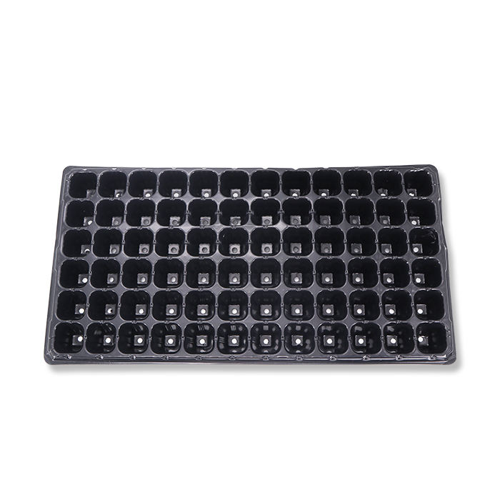 Plant Growing Trays Custom 21 28 32 50 72 98 105 200 Holes Seedling Plastic Seed Growing Tray Plant Seeding Trays