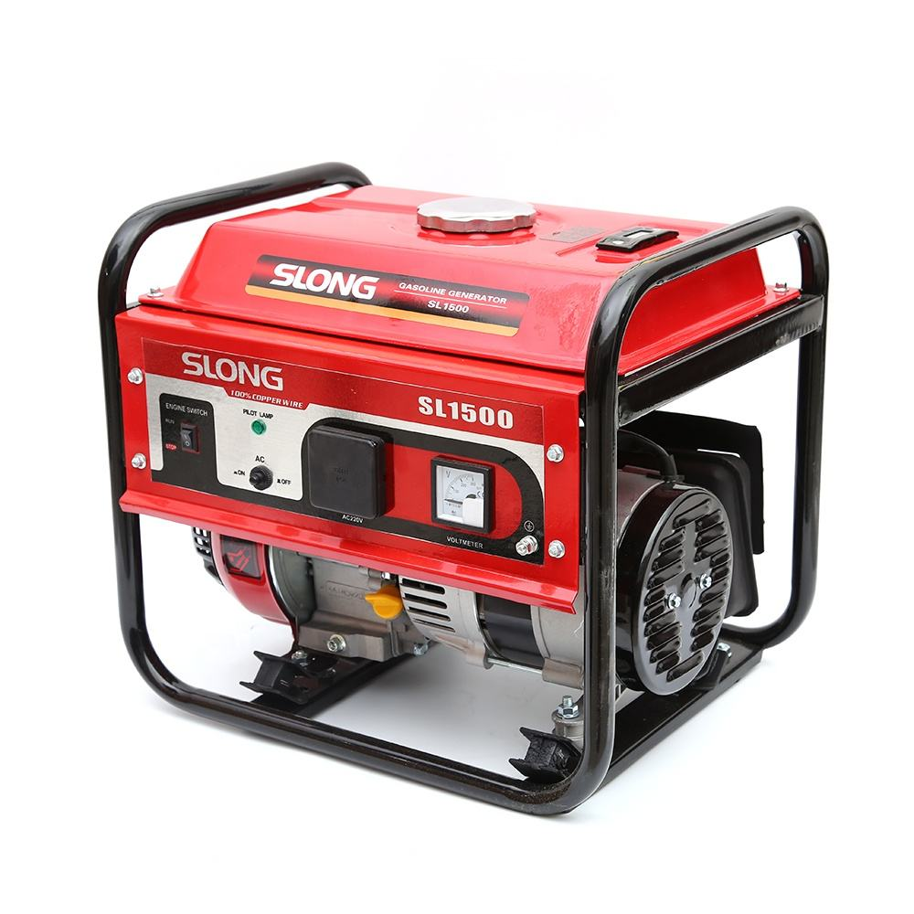 SLONG BRAND 156B gasoline engine air cooled 4 stroke 1 kw generator