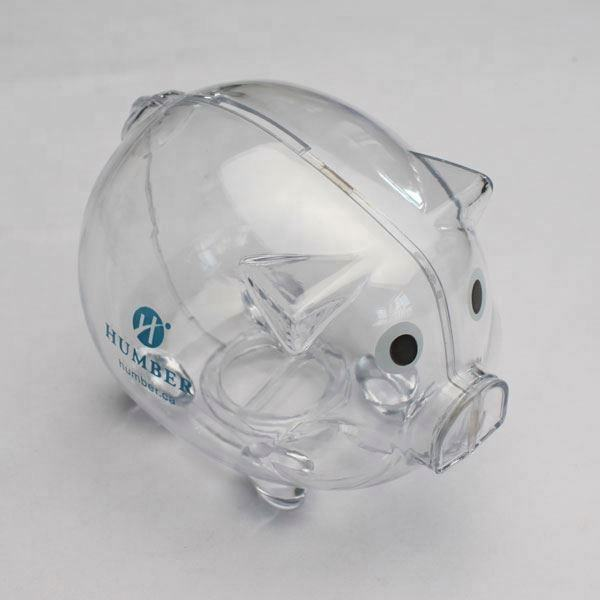 Transparent Acrylic Plastic Kids Coin Money Saving Box