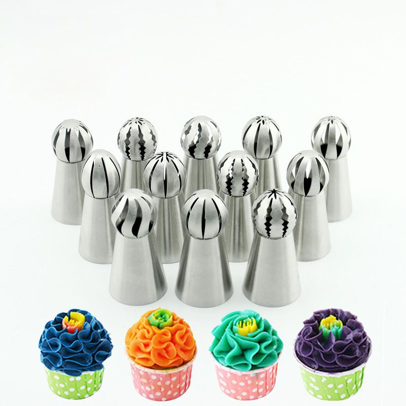 Russian Piping Tips Stainless steel Cake Tools Decorating Tips