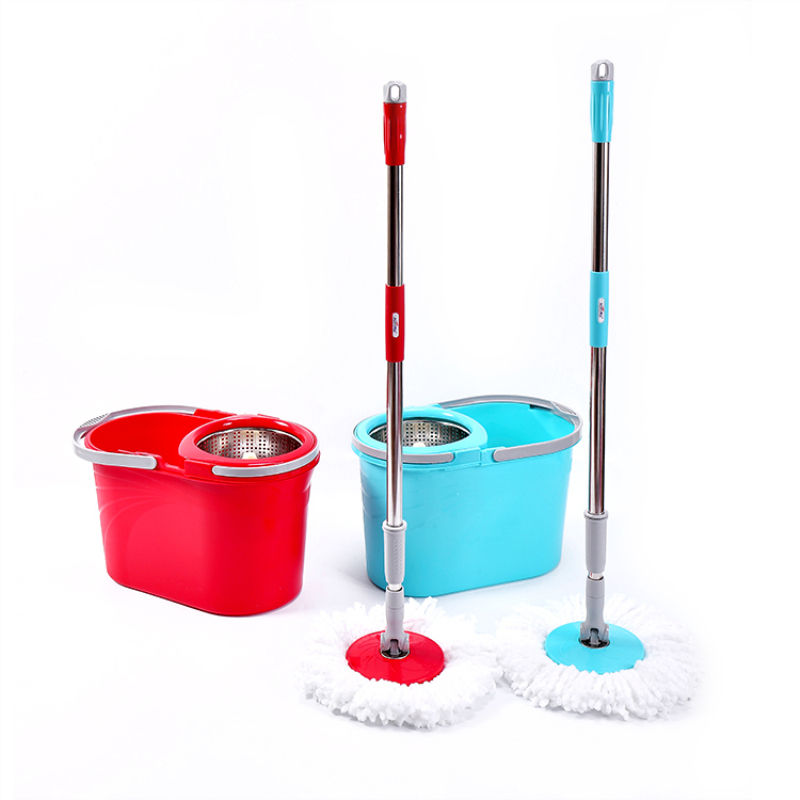 Good quality metallic 360 ratating balcony mop,lock and style water-lock cleaning mop italy