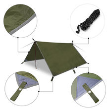 UV 50+ Waterproof Sun shade Sail Canopy Fabric Tarp Rain Fly
