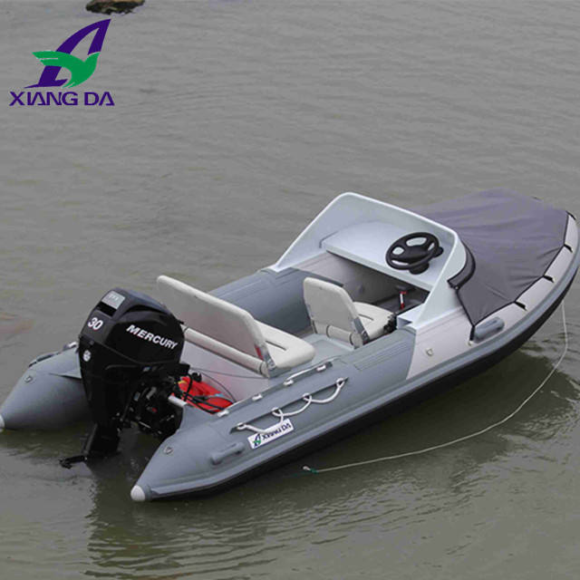Made-in-China Factory Price Military High Speed rib Boat with Outboard Motor jet boat engine sale small fiberglass boat