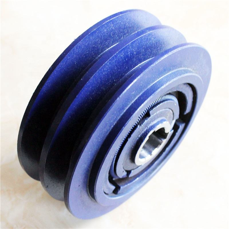 "2B type 1"" bore centrifugal clutch pulley for heavy duty machine"