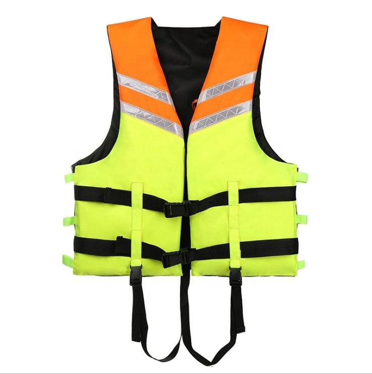 Manufacturers wholesale Customize adult life jacket professional foam swimming vest fishing vest