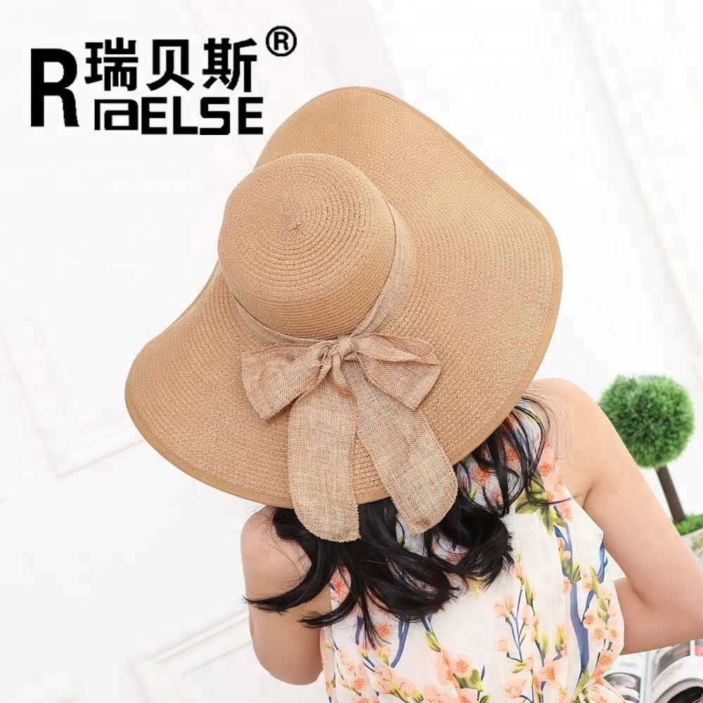Wholesale ladies floppy beach hat for summer