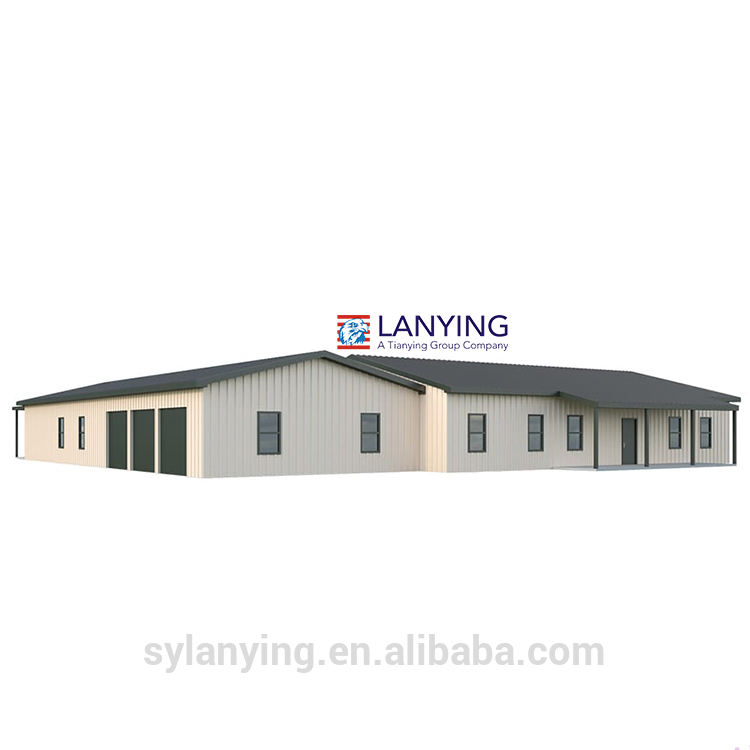 Modern design low cost convenient loading shipping prefab house