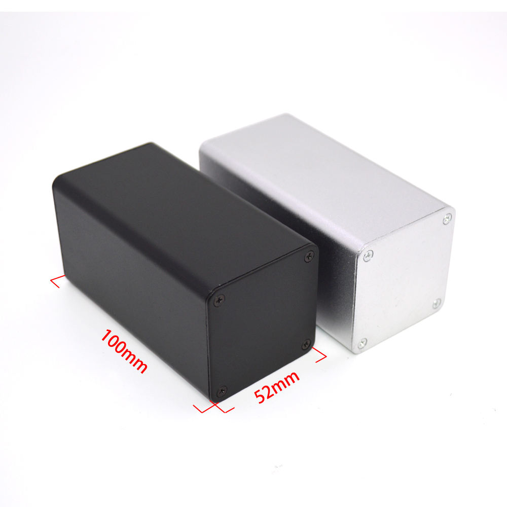 factory direct extruded aluminum enclosure heat sink aluminum metal junction box customized aluminum electronic housing
