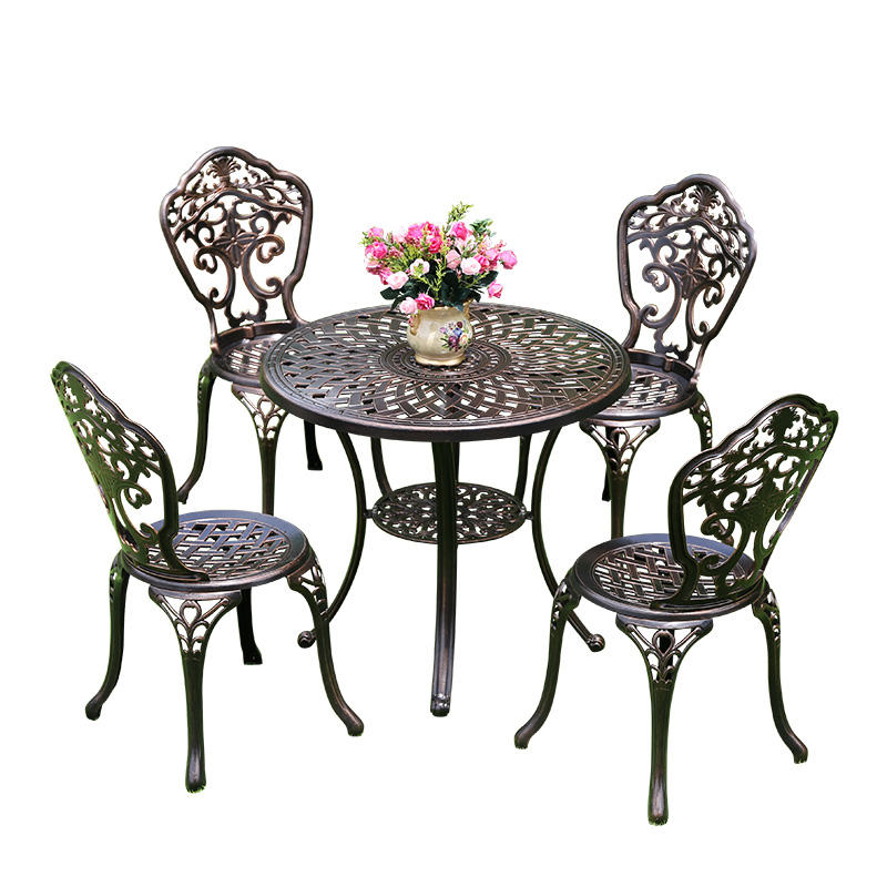 Garden set aluminum Casting Outdoor Garden Furniture