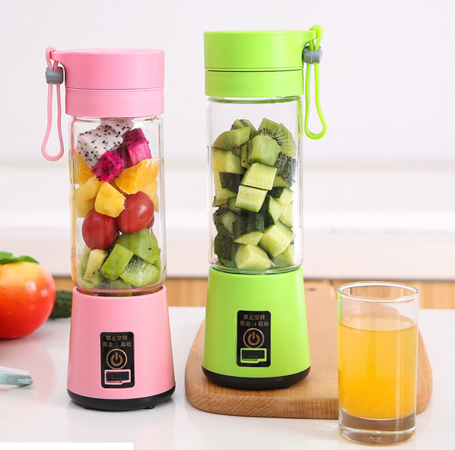380ml Populaire elektrische sap cup multifunctionele mini Juicer draagbare reizen USB blender