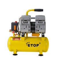 100% silent oil free air compressor 9L