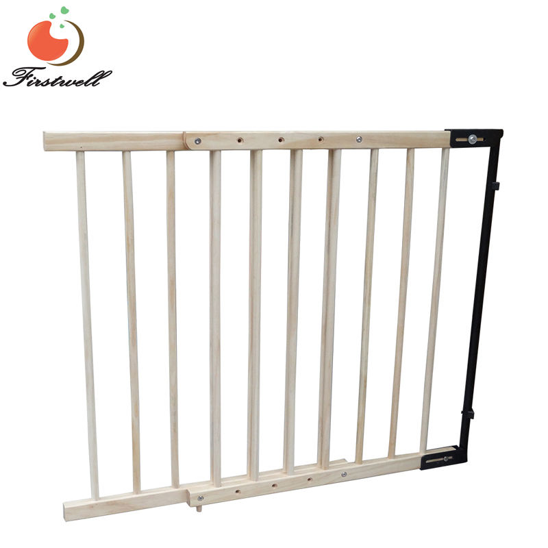 Wooden safety gates High quality wood baby gate ,Pet friendly baby gate