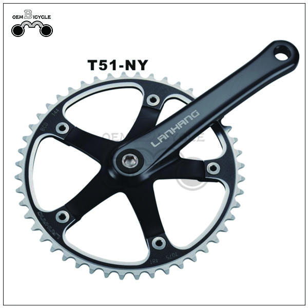 Cheap 103mm axle alloy steel bicycle crank sprocket