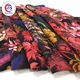 Stock a lot french thick silk dubai chiffon stock china digital fabric print
