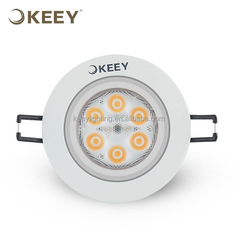 KEEY ceiling light dimmable 6W spot light ceiling Ultra Thin recessed ceiling spot TH311C