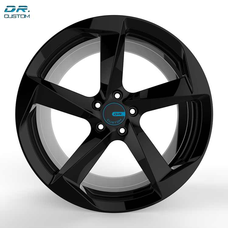 Black Dubai Alloy Wheels China Rims 21 Inch Price