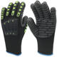Heavy duty firm grip impact resistant glove soft flexible anti vibration glove