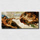 Canvas prints The Creation of Adam Beautiful Famous art oil painting fine gift