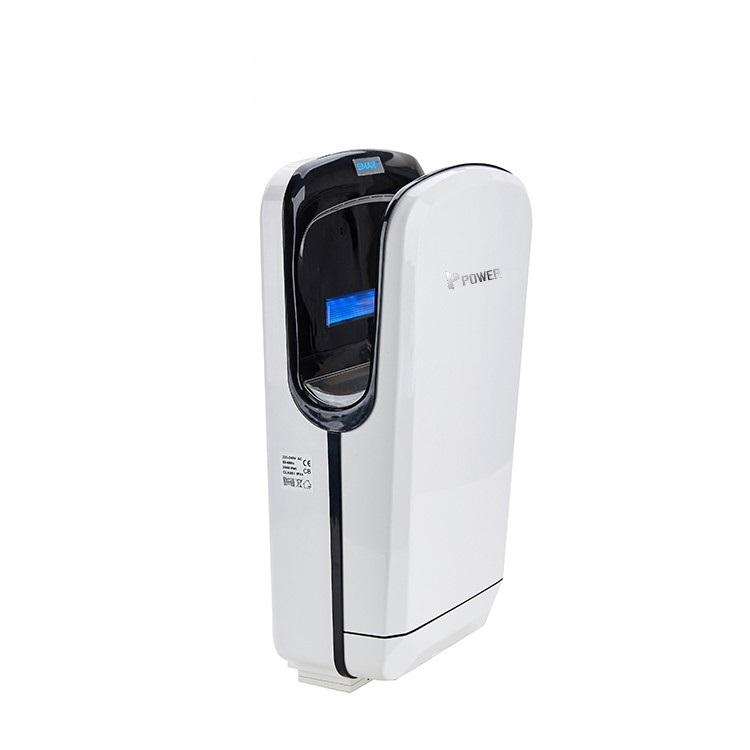 Power brushless restroom airblade low energy electric hand dryer air jet hand dryer for bathrooms
