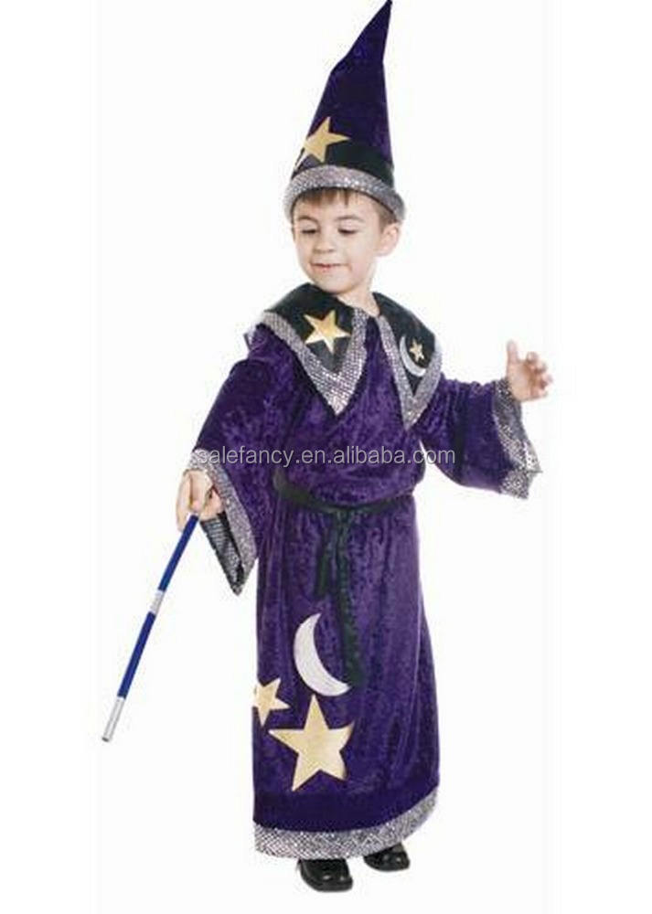 magic wizard costume kids fancy dress sun belly dance halloween costumes for kids QBC-8286