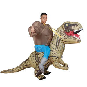 adult size T-REX inflatable dinosaur costume Blowup Dinosaur Carnival Halloween Inflatable costume
