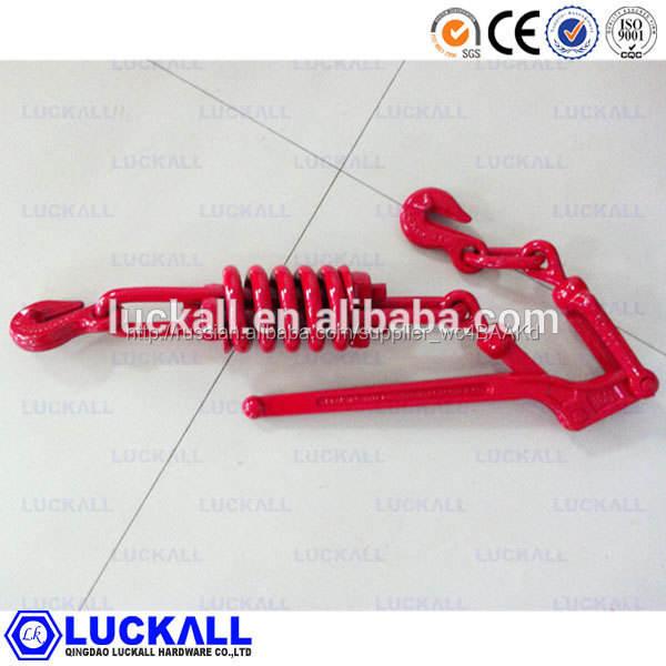 Красный стандартный ковки нагрузка связующего с крючки такелаж
