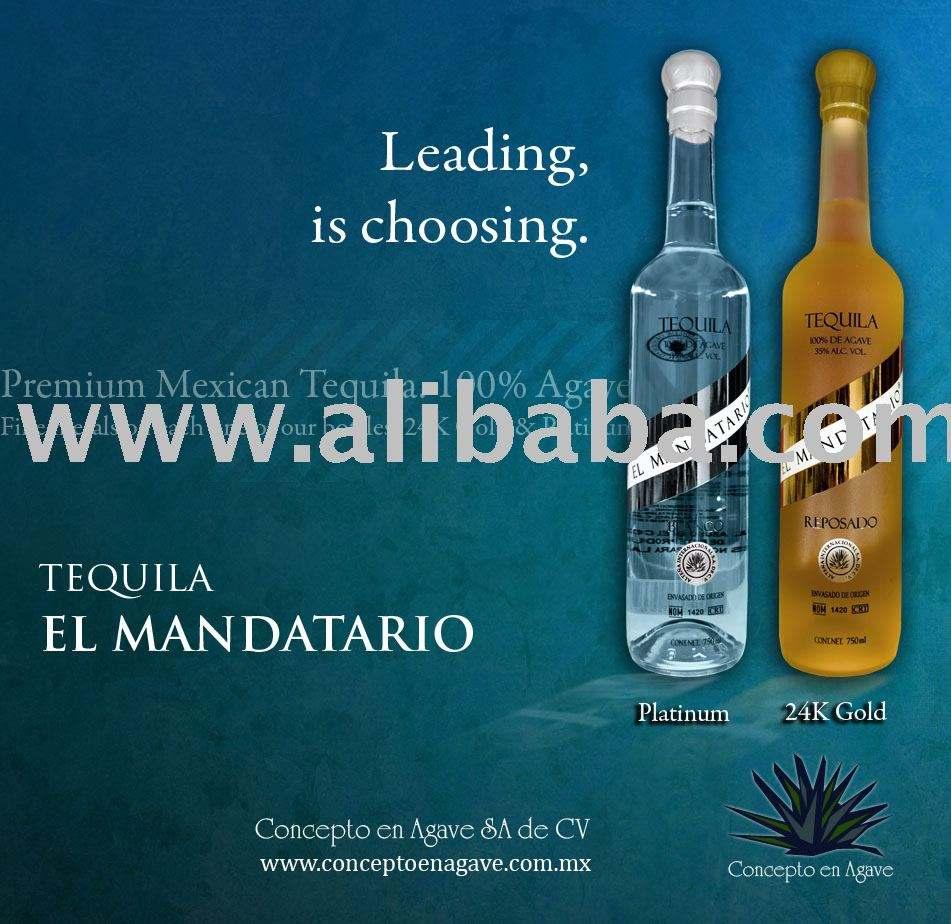 Tequila El Mandatario tequila